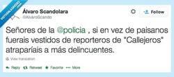 Enlace a Operación Callejeros por @AlvaroScando