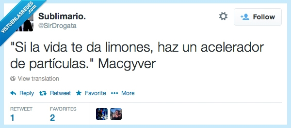 Frases,Frases célebres,Macgyver,Twitter