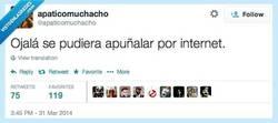 Enlace a Ojalá se pudiera, a veces dan ganas por @apaticomuchacho