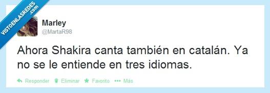 cantar,catalan,famosa,música,Piqué ¿por qué nos haces esto?,Shakira