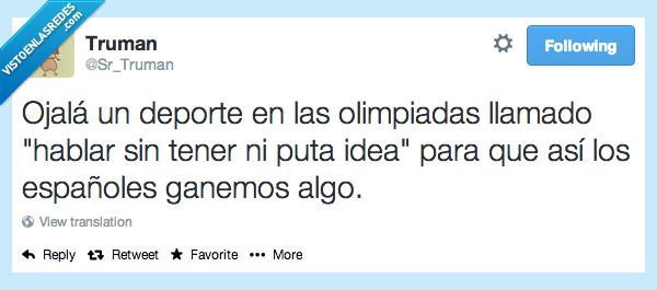 algo,deporte,español,ganar,hablar,idea,ojala,olimpiada,tener