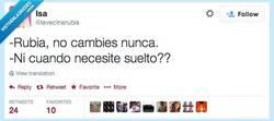 Enlace a O mejor sí, cambia... por @lavecinarubia