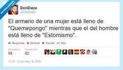 Enlace a Armarios según el género por @DonDiaza