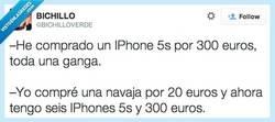 Enlace a El que no tiene IPhone, es porque no quiere por @bichilloverde