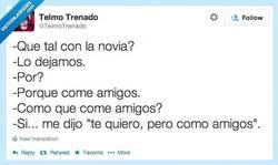 Enlace a Te quiero, pero como amigos por @telmotrenado