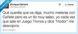Enlace a Lo que os gusta malmeter... por @Enrique_Herrero