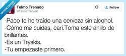 Enlace a A reírte de mí, a tu casa por @telmotrenado
