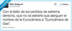 Enlace a Tras el resultado de las elecciones europeas por @norcoreano