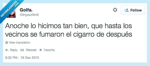 cigarro,despues,fumar,golfa,tweet,vecinos