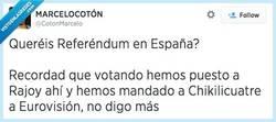 Enlace a Referéndum en España, ¿seguro? por @CotonMarcelo