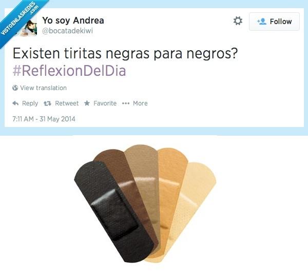 carne,color,negro,raza,tiritas
