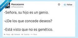 Enlace a Se ve que no es genético por @Mascarporo