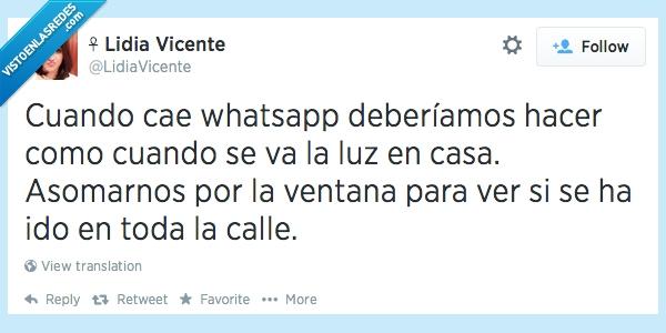 Apagón,Cae,Caos,Luz,Redes,whatsApp