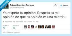 Enlace a Ante todo, respeto por @ArturoParroquia