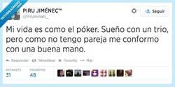 Enlace a El poker es un juego muy realista por @Piruminati_