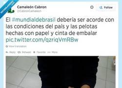 Enlace a Mundial de Brasil adaptado por @cabroncamaleon
