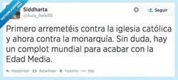 Enlace a Malditos antisistemas del medievo por @aura_reiki85