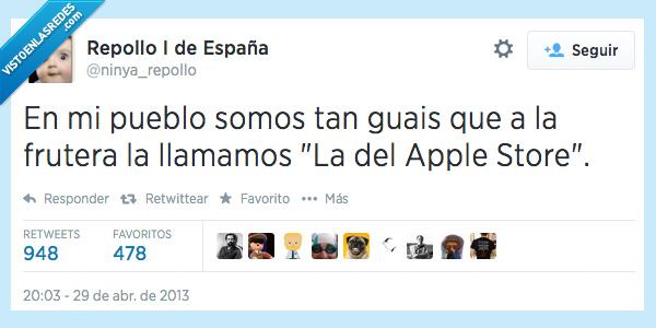 apple store,frutera,fruteria,guay,pueblo
