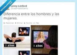 Enlace a Diferencia entre los hombres y las mujeres por @lossimpsonLenny