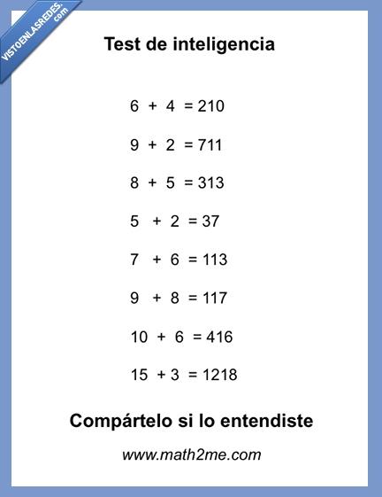 facebook,numeros,sumas,test