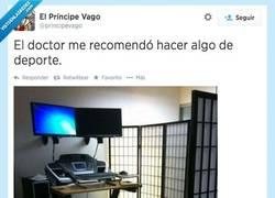Enlace a Siguiendo las recomendaciones, doctor por @principevago