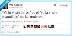 Enlace a Mmm... Mejor no te afeites por @PadrinoAndolini