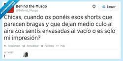 Enlace a Tiene que ser incluso incómodo por @behind_musgo
