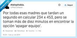 Enlace a Mi madre se convertirá.... EN LA CALCULADORA HUMANA por @MeyCollapse