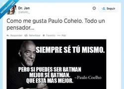 Enlace a Coelho, un grande de la autoayuda por @afonti_