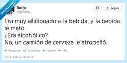 Enlace a Y la bebida lo mató... por @borjetas