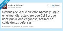 Enlace a No me fio de los Actimel, no desde el Mundial por @Enrique_Herrero