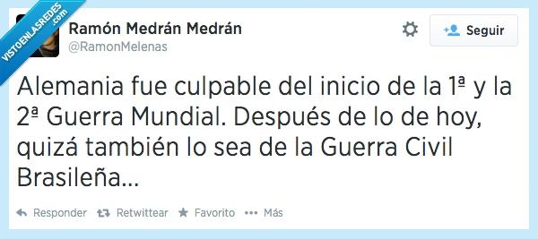 Brasil decime que se siete,Flipao Scolari,Guerra Civil Brasileña,Lo que le faltaba a Merkel para ser dueña de Europa,¿Por qué los brasileños no silbaban ayer a España?