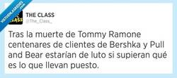 Enlace a Ramonesmaníacos auténticos de luto por @the_class_