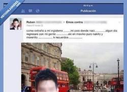 Enlace a Se nota que el chico es de Londres, del mismo Londres