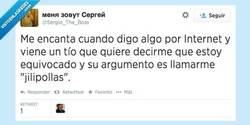 Enlace a Son argumentos de peso, por @Sergio_The_Boss