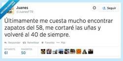 Enlace a ¿Unos zapatos del 58, por favor? por @JuanesFTR