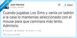 Enlace a Los Sims saca lo peor de las personas por @Juani_herrera