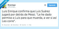 Enlace a El verdadero motivo del fichaje de Suárez por @riveriego_