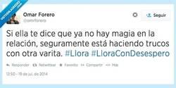 Enlace a Se acabó la magia por @omrforero