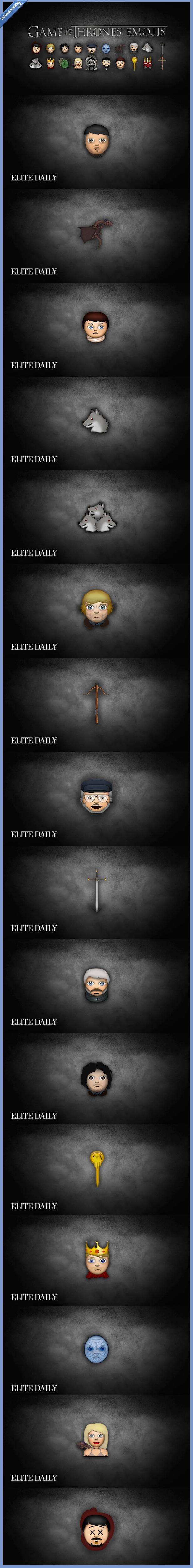 emojiis,emoticonos,game of thrones,juego de tronos