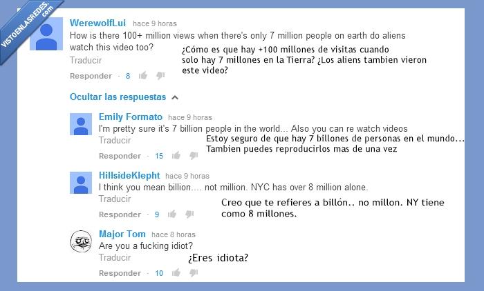 aliens,billones,fancy,iggy azalea,ingles,millones,otros,tontos,youtube