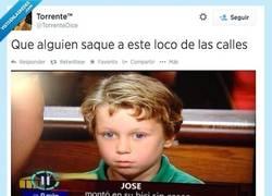 Enlace a Miradle, qué cara de perturbado por @TorrenteDice