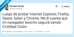 Enlace a Un gran navegador, sí señor por @esepinchewey