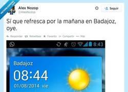 Enlace a Si vas a Badajoz, llévate una rebequita por @AlexNozop