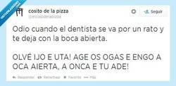 Enlace a Cuando el dentista se va por @elcosodelapizza