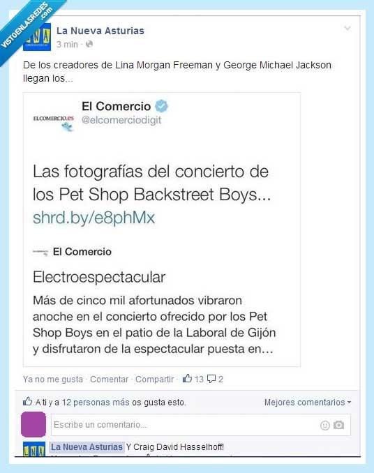 Backstreet Boys,concierto,El Comercio,La Nueva Asturias,Pet Shop Boys