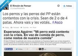 Enlace a 'Gracias' @EsperanzAguirre por darnos titulares como éste, por @luisaoMoratalla