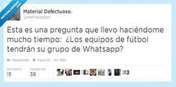 Enlace a ¿Cómo se llamará el grupo de Whatsapp del Real Madrid? ¿Y el del Barça? por @HetfieldsSon