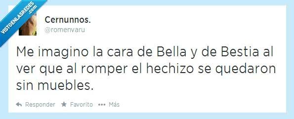 Bella,Bestia,Disney,Muebles