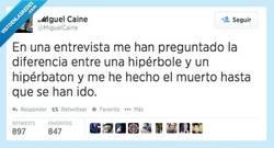 Enlace a Yo venía a hablar de mis virtudes, por @MiguelCaine